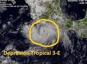 depresión tropical forma Pacífico Guerrero(México)