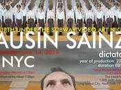 Under Subway Video Night Fourth edition 2014, Ausín Sáinz York City.