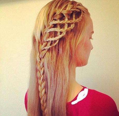 Trenzas sencillas para el cabello Paperblog
