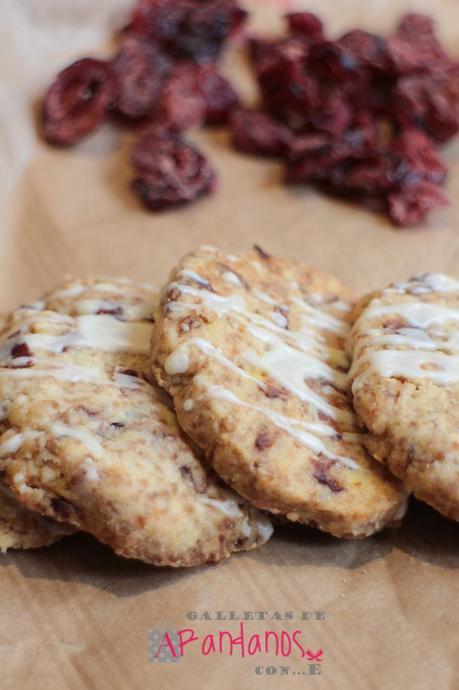 galletas de arandanos....con