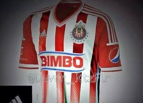 Es esta la nueva camiseta Adidas de Chivas  temporada 2014-2015 ... aba2c7dbd1063