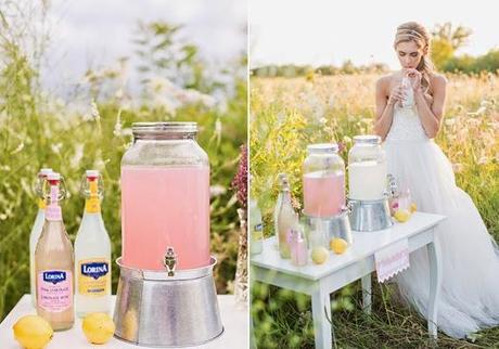 Bodas en verano Pon una barra libre de limonada Paperblog