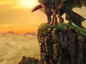 Chulisimo póster imax como entrenar dragon