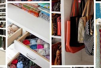 6 ideas para organizar el armario paperblog - Ideas para organizar armarios ...