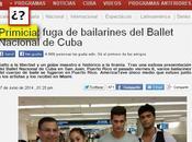 "periodismo chatarra Miami ""deserción"" bailarines cubanos"