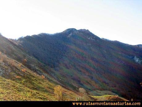 Ruta Cuyargayos: Vista del Cuyargayos