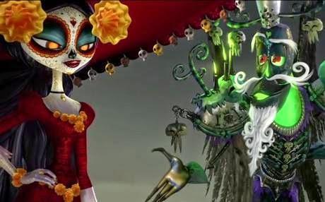 'El Libro de la Vida', la producción animada de Guillermo del Toro, suena igual de