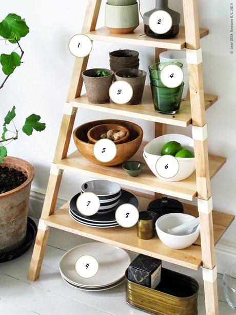 Estanteria ps 2014 de ikea ideal para la cocina paperblog - Estanterias para la cocina ...
