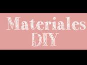 Materiales DIY: Libreta decorada Goma para primavera