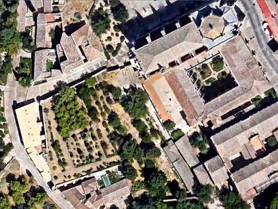 Adarve Ueld Elazri o Castillo Viejo de los Judios en Toledo