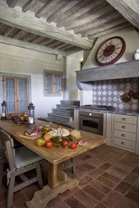 Casa toscana con toques de provenza tuscany house and - La provenza italiana ...