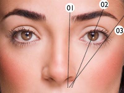 Las cejas según la forma de tu rostro