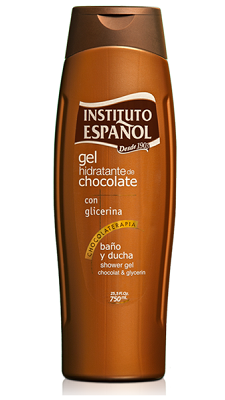 Gel hidratante de Chocolate, Instituto Español