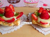 Tartaletas fáciles fresas
