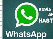 Cómo enviar WhatsApp cualquier archivo hasta 150MB