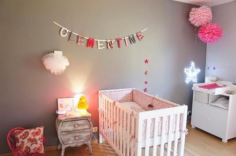 Nombres vintage para beb s imagui - Habitacion gris y rosa ...