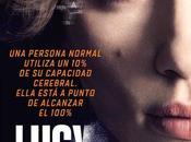 "Nuevo póster para españa ""lucy"""