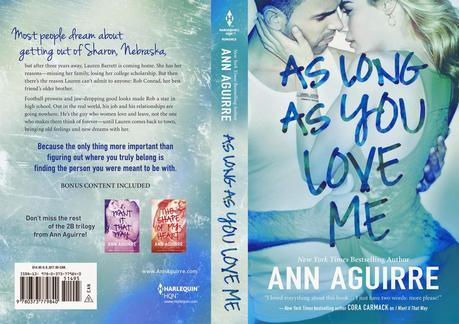 Portada revelada: I Want It That Way, As Long As You Love Me y The Shape of My Heart de Ann Aguirre