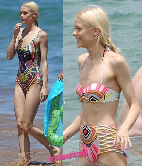 jaime king bikini beach