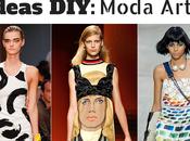 Ideas DIY: Moda arty