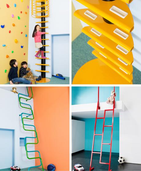 escaleras para infantiles
