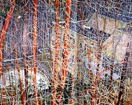 Peter Doig-the architects home in the ravine