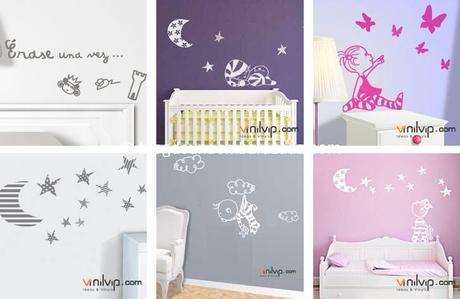 Vinilvip vinilos infantiles y para beb s que traen sorteo for Vinilos pared aliexpress