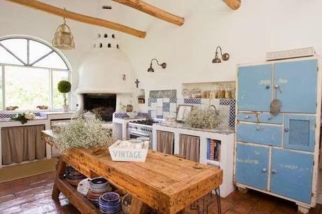Casa de campo r stica en italia paperblog - Muebles marroquies en madrid ...