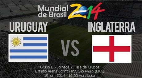 ver uruguay vs inglaterra