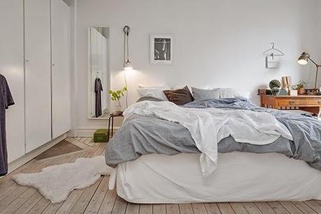 Ideas deco decora tu dormitorio sin cabecero paperblog - Dormitorios sin cabecero ...