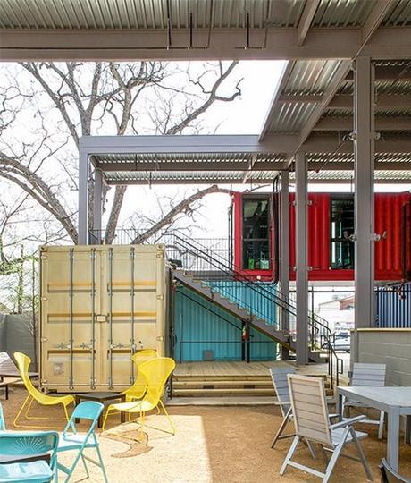 Austin Container Bar: contenedores y muebles de Ikea hacen más cool ...