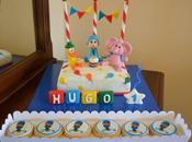 Tarta Cumpleaños Pocoyó para Hugo♥ Pedacitos Azúcar