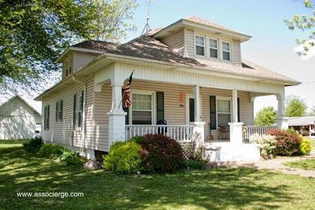 16 modelos de casas americanas paperblog for Planos de casas norteamericanas