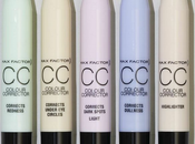 Nuevos color corrector facefinity primer factor. (swatches como usarlos)