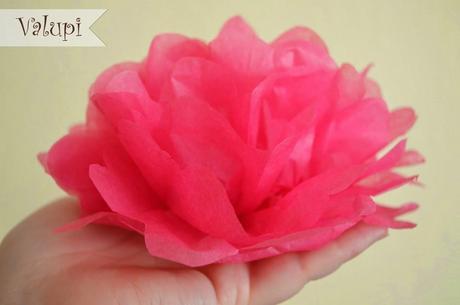 Diy Flores Con Papel De Seda Paperblog