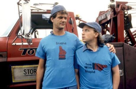 ONE CRAZY SUMMER, Tom Villard, Bobcat Goldthwait, 1986. ©Warner Bros.