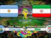 Partido Argentina Iran Grupo Mundial 2014