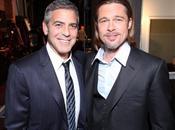 Brad Pitt será padrino George Clooney boda
