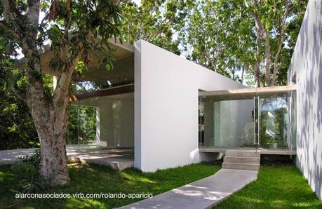 Casas modernas en im genes seleccionadas paperblog - Casas de madera minimalistas ...