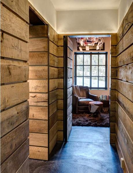 muros rusticos de madera rustic wood wall