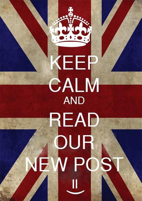 keep calm and read our new post