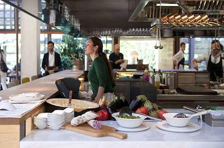 El restaurante bosco de lobos coloniza el colegio de arquitectos de madrid paperblog - Arquitectos interioristas madrid ...