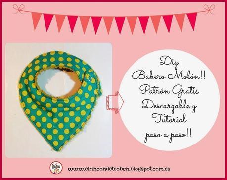 Tutorial DIY Babero Molon! Cómo hacer un Babero paso a paso, patrón gratuito!