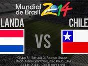 Partido Holanda Chile Grupo Mundial Brasil 2014
