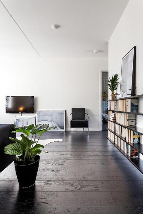 Suelo de madera negro paperblog - Madera para suelos interiores ...