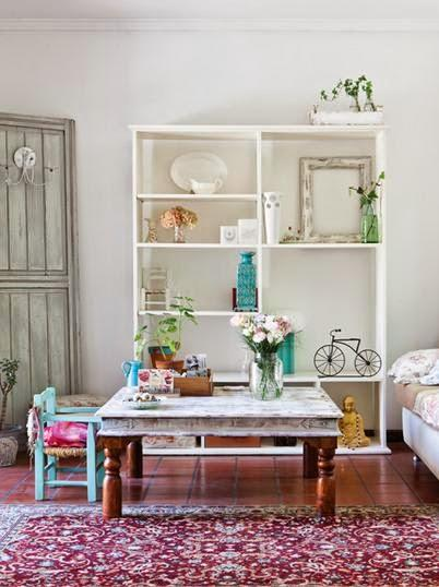 De ambiente rom ntico vintage paperblog for Living estilo romantico