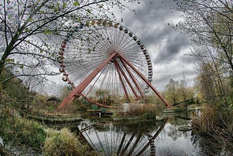 Abandoned Theme Park Spreepark in Berlin