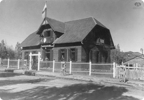 Ex edificio de las Oficinas de Tierras y Colonias