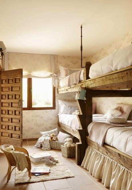 Dormitorios infantiles rusticos children 39 s rustic style - Dormitorios infantiles rusticos ...