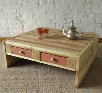 Lindos muebles hechos con palets reciclados paperblog for Reciclar palets para muebles